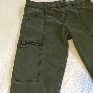 Pistola Topanga Cargo Zipper Detail Skinny Pant